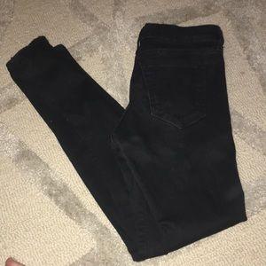 GAP Legging Jean High Stretch Black Jean 4/27